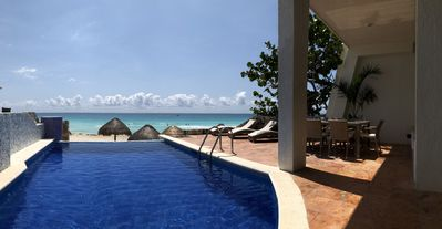 Photo for Deluxe Three Bedroom Beach Villa