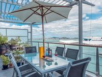 Great property and location right in the heart of the harbour