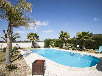 Photo for Villa Palm  apartment in Parabita with WiFi, private parking & balcony.