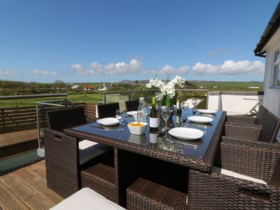 Photo for SEA DREAMS, pet friendly, with a garden in Abersoch, Ref 982805