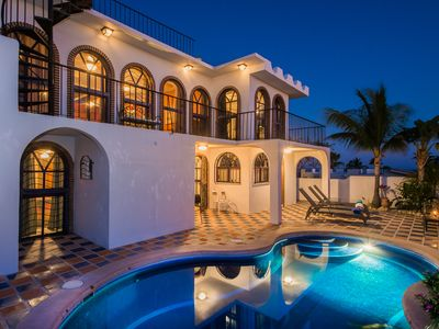 Photo for 4br - ~ CABO SAN LUCAS ~ PRIVATE ALL INCLUSIVE LUXURY VILLA w/ OCEAN VIEW