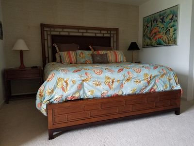 New Master bedroom furniture with king-sized iComfort mattress