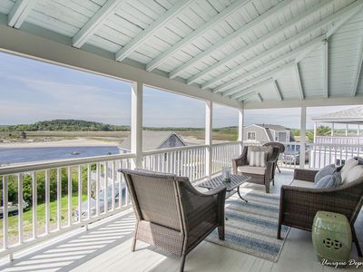 Photo for Spacious Beach House with Spectacular Ocean Views and Private Beach Access