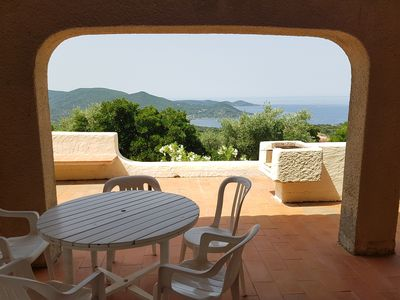 Photo for Charming villa with exceptional views ideal for couples or families