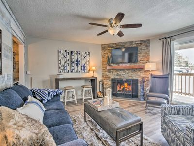 Photo for Resort Condo - Minutes to Skiing & Overlook Barn!