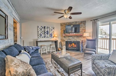 Book a Beech Mountain getaway to remember at this newly renovated condo.