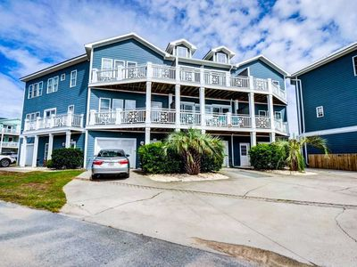 Photo for Ocean Front views and only a short distance to the Kure Beach Boardwalk