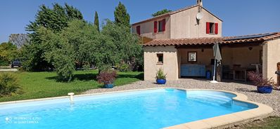 Photo for GREAT VILLA CLIMATIZED IN A TYPICALLY PROVENÇAL AND PRESERVE VILLAGE