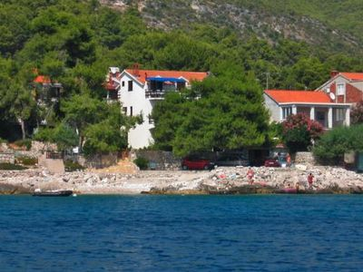 Photo for Apartments home Mirjana, Prizba  in Korcula - 4 persons, 2 bedrooms