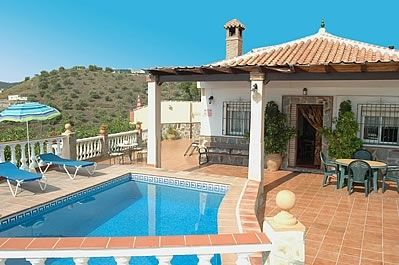 Photo for 2 bedroom Villa, sleeps 4 in Frigiliana with Pool, Air Con and WiFi