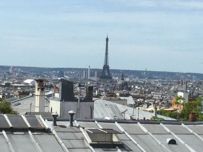 Photo for Charming Apartment w Great Paris View!