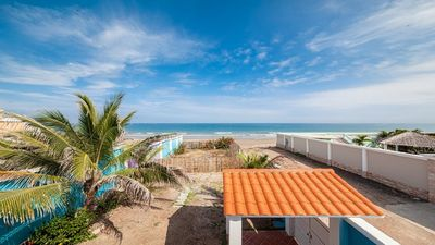 Photo for Absolute Beach Front Home - Crucita