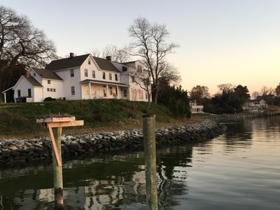 Photo for Waterfront 5+ Bedroom 7-Acre Historic Farm Near Solomons Island & Bay