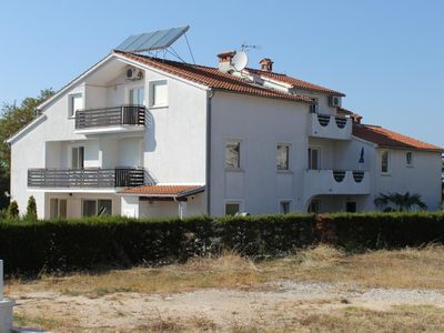 Photo for Two bedroom apartment with balcony and sea view Poreč