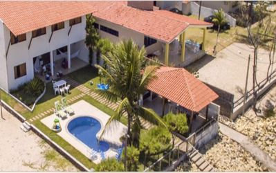 Photo for EXCELLENT SEAFRONT HOUSE, 06 FURNISHED SUITES AND SWIMMING POOL FOR UP TO 18 PEOPLE