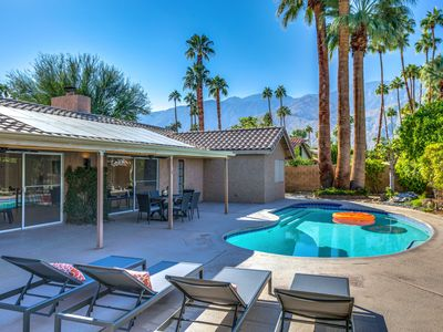 Photo for Beautifully Remodeled Mid-Century Modern 4BR w/ Private Heated Pool & Spa