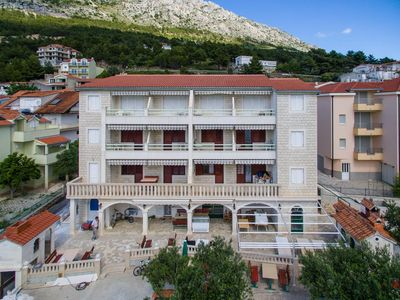 Photo for Apartment in Nemira (Omiš), capacity 4+0