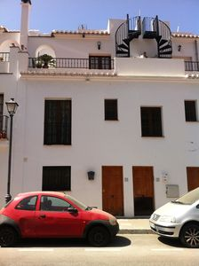 Photo for Spacious, Air-conditioned Andalusian Two-Storey Maisonette With Private Pool