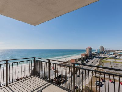 Photo for 2BR w/ 11th-Floor Gulf Views, Heated Pool, Hot Tub & Private Beach Access