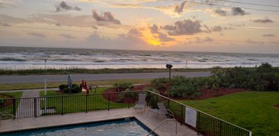 Photo for OCEANFRONT 3BR/2BA sleeps 8. Beach & pool view.Beach gear and 2 bikes provided.