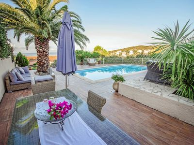 Photo for VILLA WITH POOL AND JACUZZI 3mn BY FOOT FROM THE SEA
