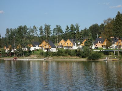 Photo for Haus Rosi directly on Moldaustausee / Lipno