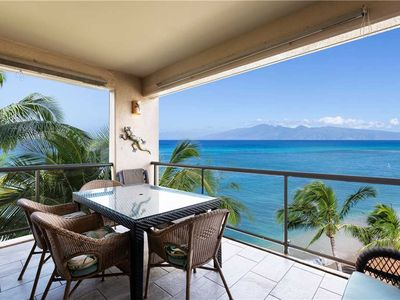 Photo for True Beach/Oceanfront! Huge Remodeled Unit! 180° Views!