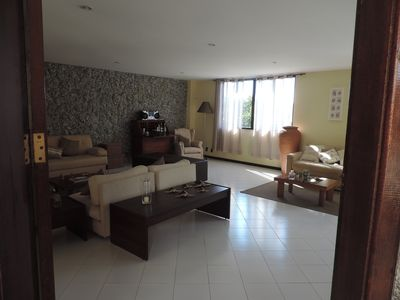 Photo for Charming 2 floor house with an amazing view in the heart of Rio.