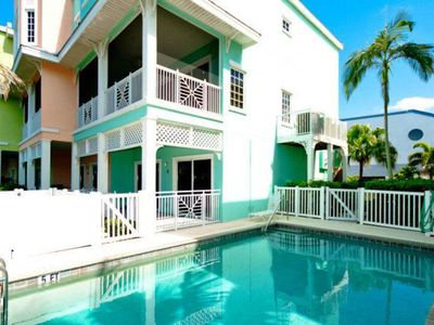 Photo for Gulfview, dog-friendly condo w/ shared pool - across street from the beach!