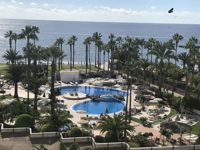 Photo for Apartment Altamira with fantastic sea view in Playa del Duque