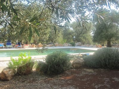 Photo for Magnificent trullo with pool special prices