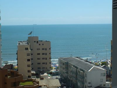 Photo for Wide fit one block from the ocean, Av Brazil, 3 bedrooms plus dep, parking