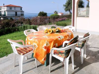 Photo for Apartment Casa Riva Mare  in Riva Ligure (IM), Liguria: Riviera Ponente - 6 persons, 2 bedrooms