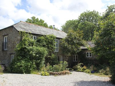Photo for Idyllic mill house and barn in beautiful grounds near Port Isaac