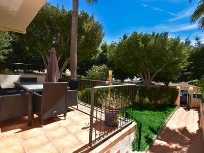 Photo for Beautiful holiday home only a few steps from the beach in Costabella