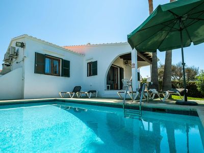 Photo for No need for a car at this traditionally-styled villa with pool, set in a convenient location