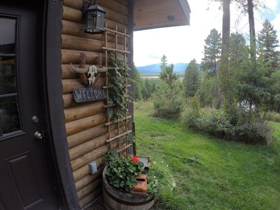Photo for KM Ranch Hideaway - Out of town cabin with amazing view