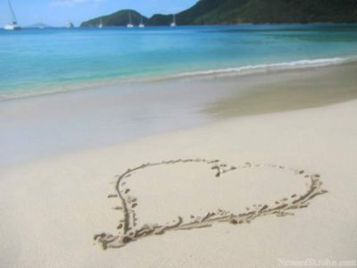 St John!  The perfect place for LOVE
