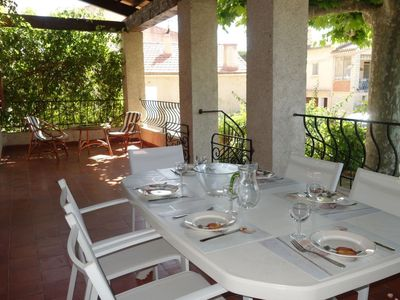 Photo for House 1.1 km from the center of Saint-Cyr-sur-Mer with Internet, Parking, Terrace, Washing machine (103473)
