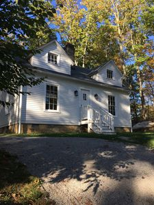Historic Farmhouse on Nature Preserve.  Quiet spot near town. Work, hike, relax.
