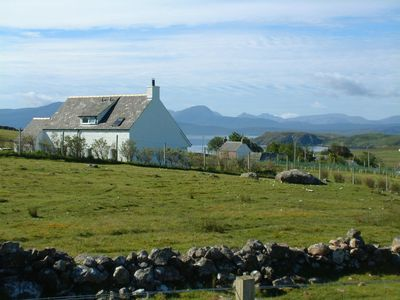 Photo for Elegant and secluded cottage with stunning views of the Summer Isles