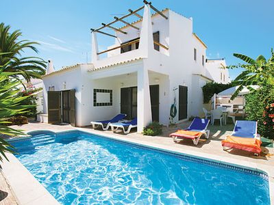 Photo for Peaceful Villa w/pool, lovely covered terraces, near shops and restaurants