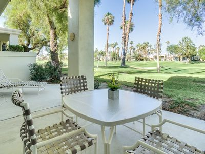 Photo for Palm Springs Condo On World-Class Golf Course–With Community Pool And Spa