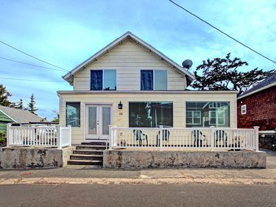 Photo for Large home in Seaside w/ sleeping for 12 less than a block from the beach!