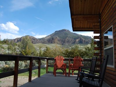 Photo for 1400 sqft Cabin 30 Miles from Yellowstone Fit For Hunters and Travelers!