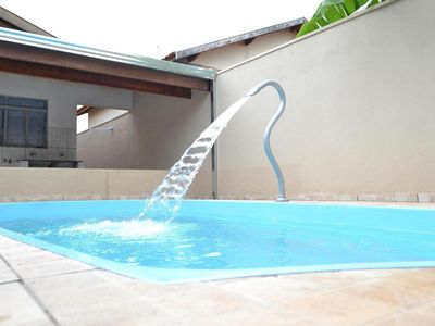 Photo for HOUSE W / POOL HEAT. SOLAR, AIR COND, WIFI AND TV WITH NETFLIX! SLEEPS 13 PEOPLE