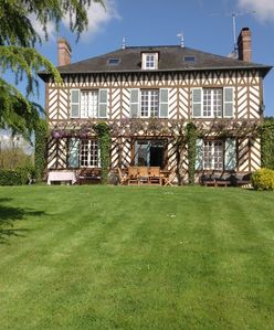 Photo for NORMANDE MASTER'S HOUSE CLOSE TO THE DEAUVILLE / TROUVILLE BEACH STATIONS