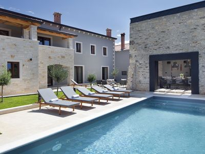 Photo for Beautiful design villa in peaceful and quite village, but only few minutes from the tourist center Porec