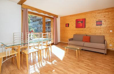 Photo for Beautiful 1 bedroom-apartment for 6 persons. A bright living room with sofa bed. Equipped kitchen wi