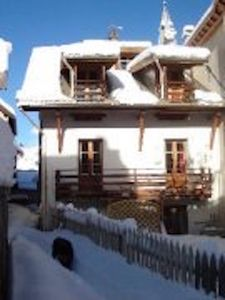 Photo for 4 mn walk from the slopes, 10 real bed rooms, 2 lounges in a former farm house